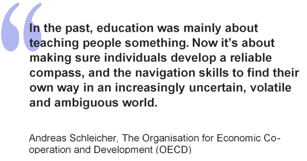 QUote from Andreas Sclheicher
